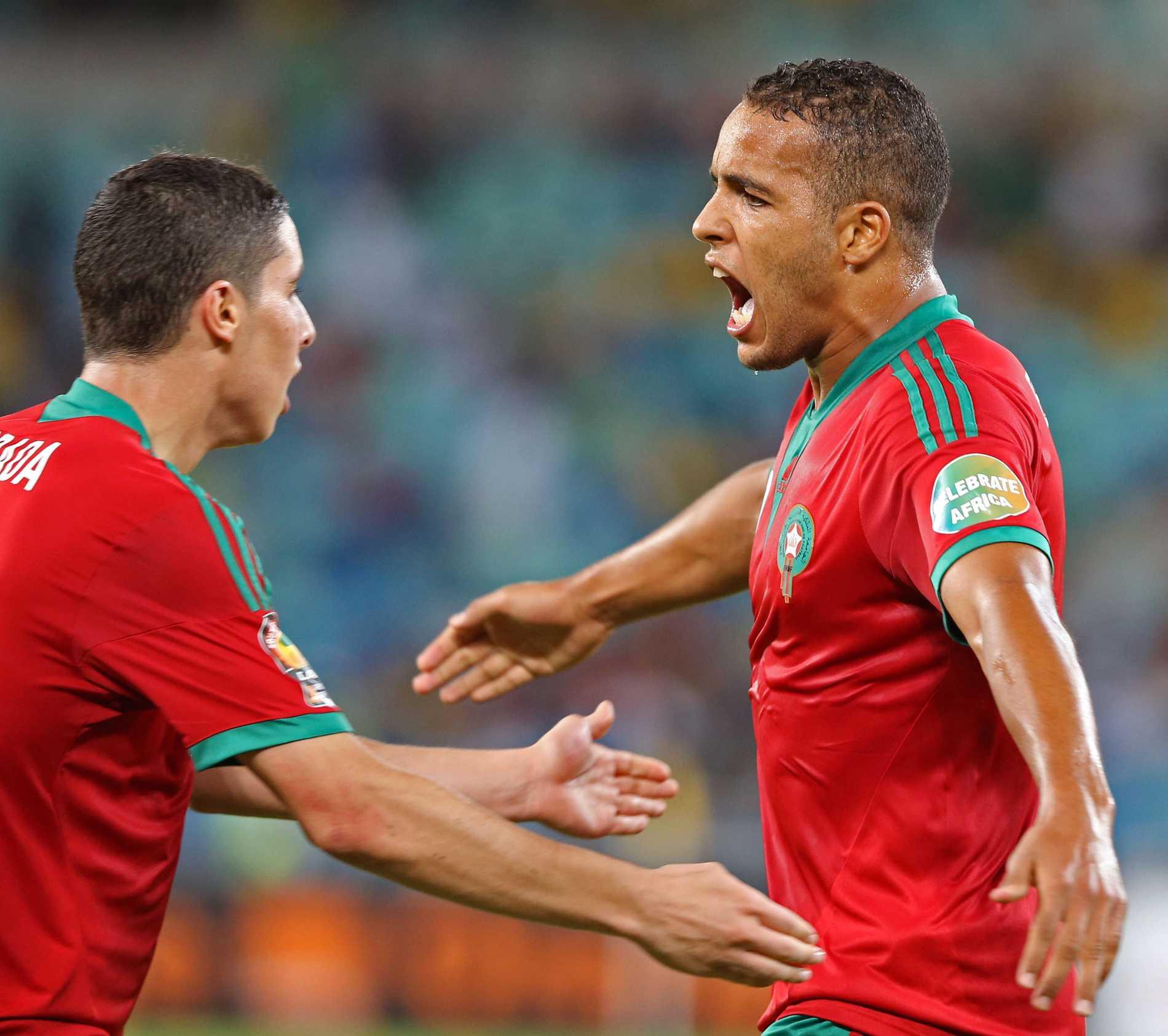 Youssef El-Arabi i Marockos landslag.