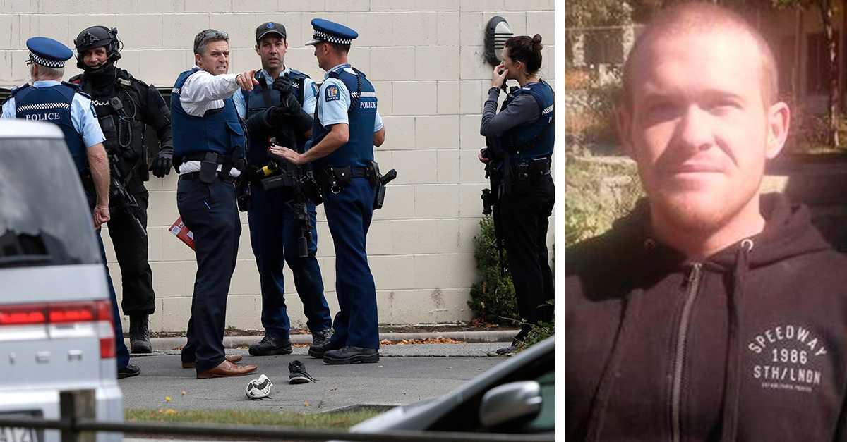 Christchurch-misstänkt anklagas för terrorbrott