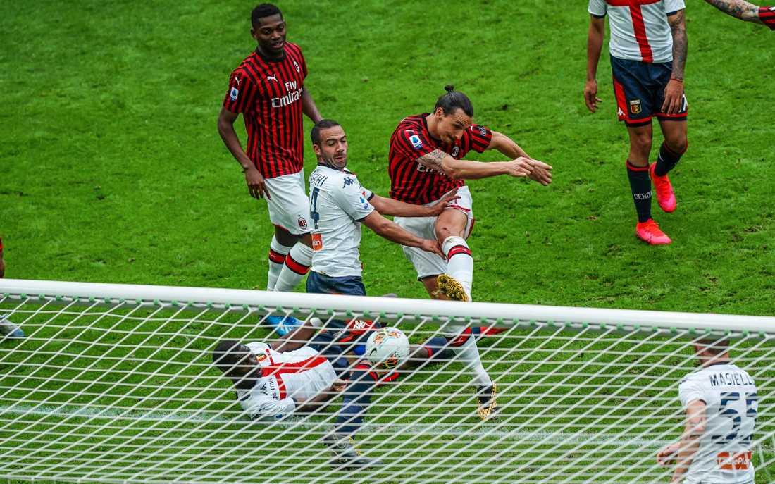 Kan vara Zlatans sista mål.