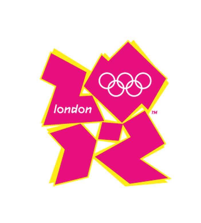 London-OS 2012: 4,3 miljoner kronor Den ritades 2007 av Wolff Ollins och tro't eller ej men krumelurerna föreställer siffrorna 2012.