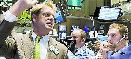 Svarta måndagen på Wall Street.