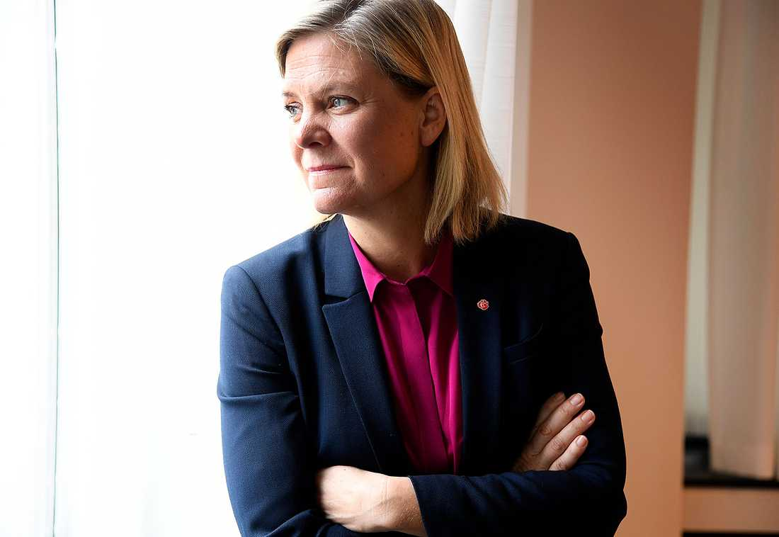 """""""Jag tror inte Sverige som helhet varit tillräckligt uppmärksamma på problematiken"""", säger Magdalena Andersson (S)."""
