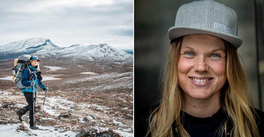 Alla Sveriges landskap på fyra månader – det var Linda Åkerbergs resa.
