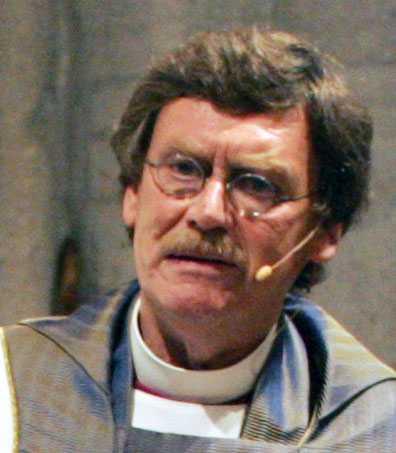 Lennart Koskinen, biskop i Visby.