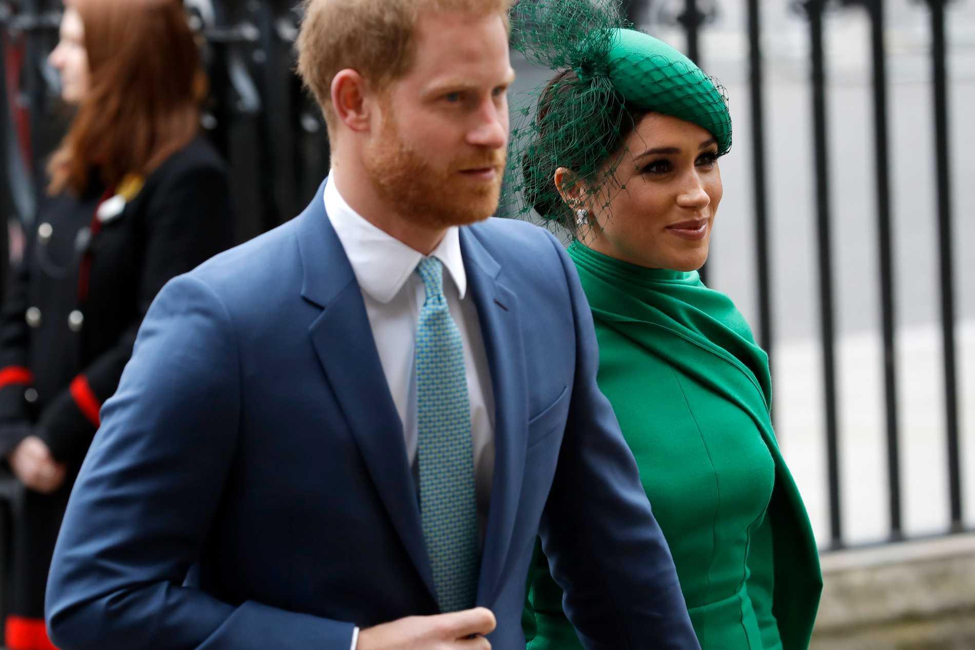Prins Harry och Meghan.