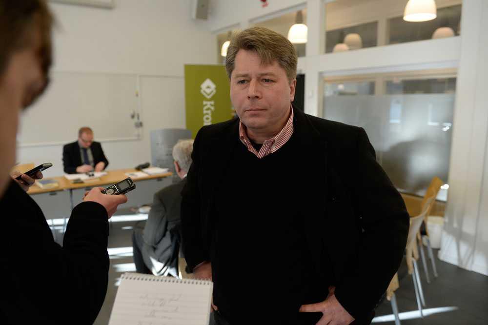 Den tyska affärsmannen Franz Sedelmayer vid dagens auktion.