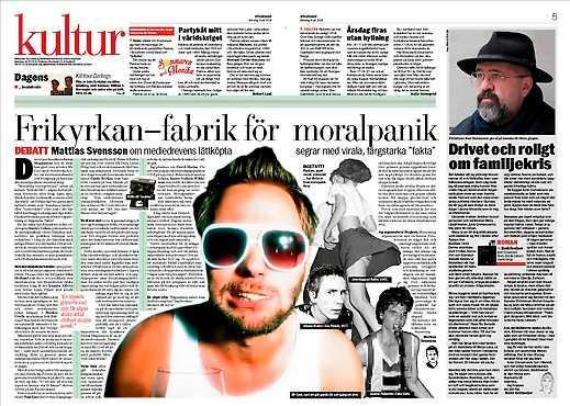Aftonbladet den 9 juli.