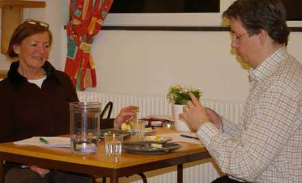 Med potatis och protokoll tog experterna Kari Pettersson och Richard Tellström fram ett nytt smakspråk.