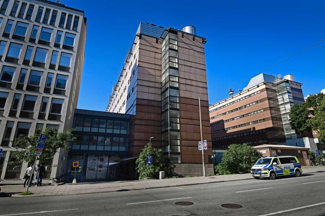 Detention center Kronobergshäktet in the central parts of Stockholm.