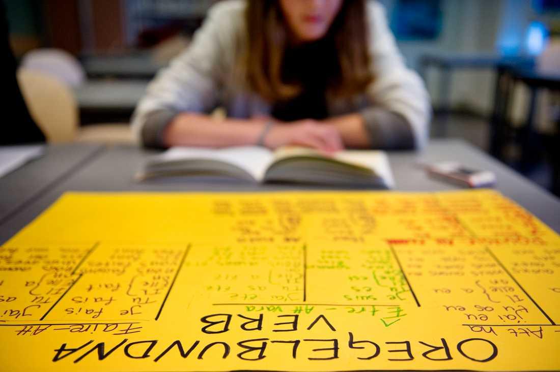 Lågpresterande elever får inte det stöd de behöver, enligt en enkätstudie. Arkivbild.