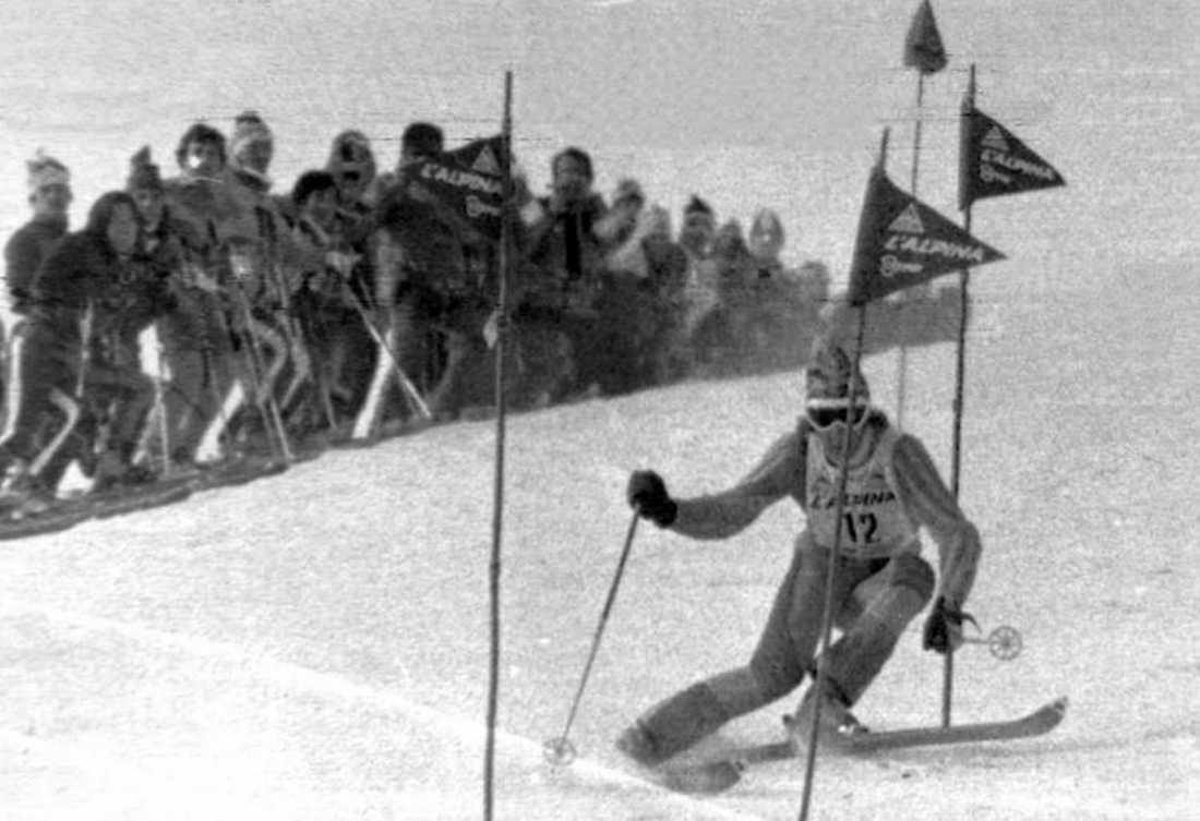 """De är 40 år sedan """"Stenis"""" första seger i världscupen."""