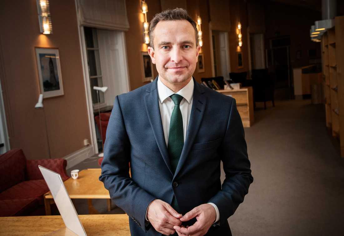 Tomas Tobé, rättspolitisk talesperson i Moderaterna.