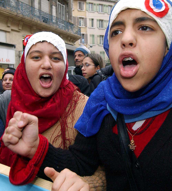 Demonstration i Frankrike.