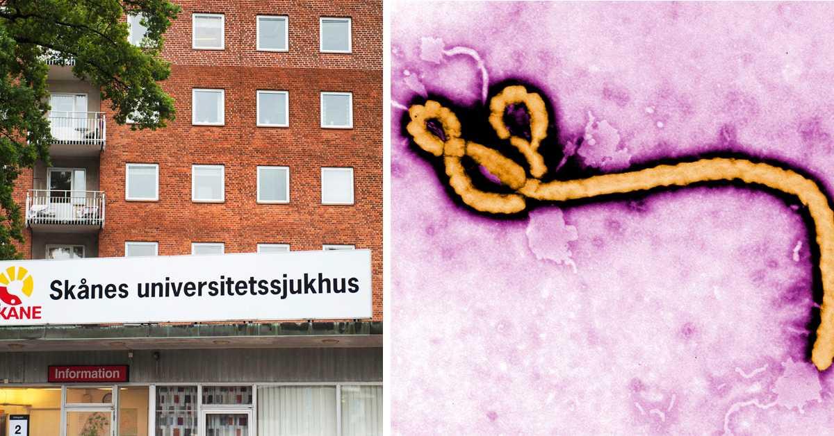 Misstänkt fall av ebola på sjukhus i Malmö