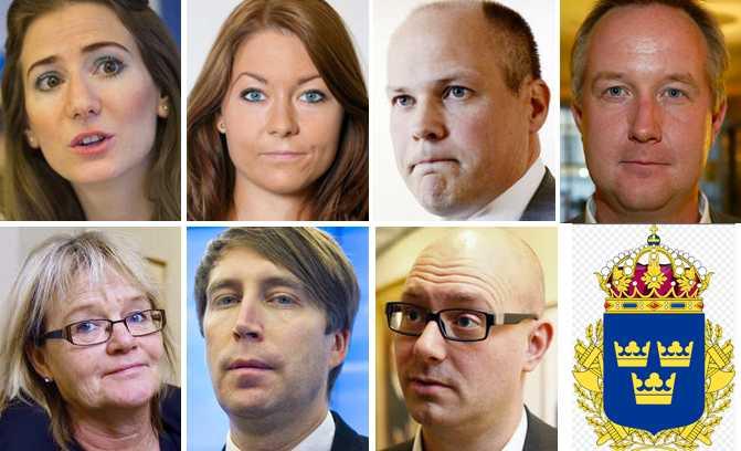 Företrädare för de politiska partierna kommenterar Aftonbladets avslöjande.
