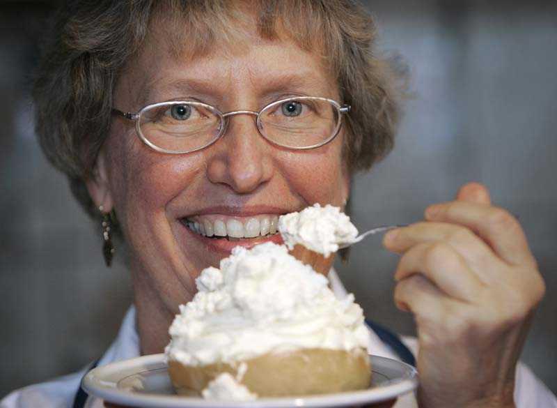 Annika Dahlqvist proppar sig mätt med lchf-diet.