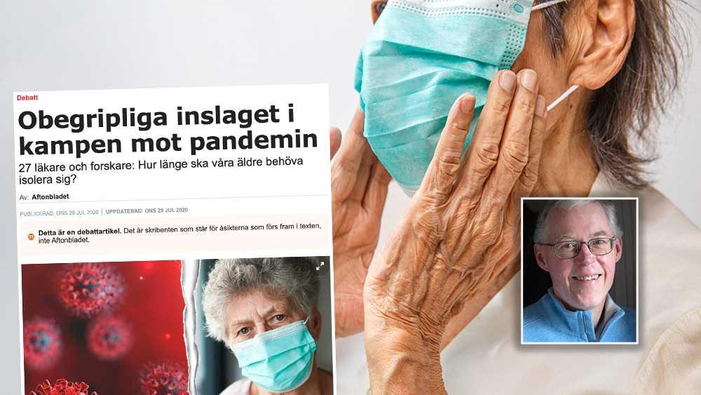 Den studie som de 27 läkarna och forskarna hänvisar till när de argumenterar för munskydd för hela befolkningen bryter mot en rad vetenskapliga förhållningssätt, skriver debattören.