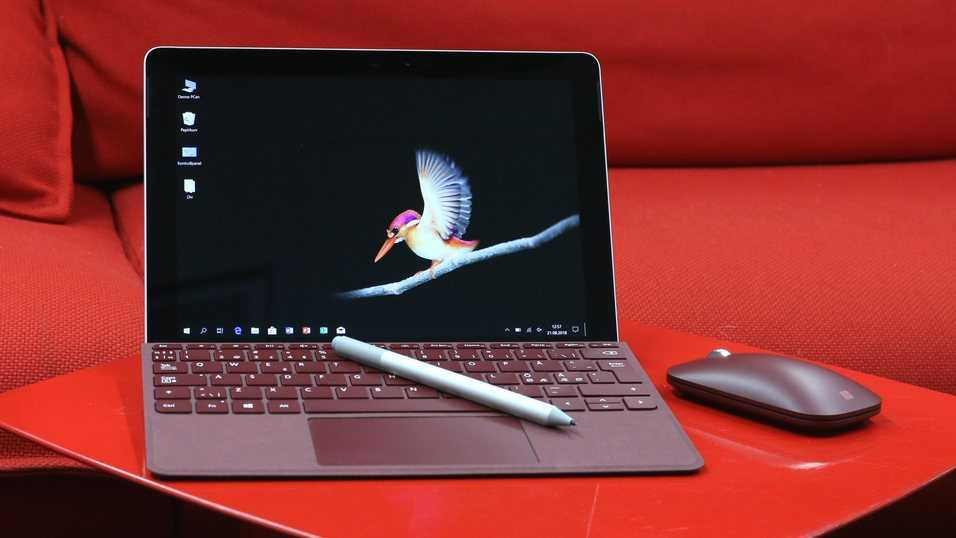 Microsoft släpper Surface Go med 4G LTE – inbyggt mobilt bredband.