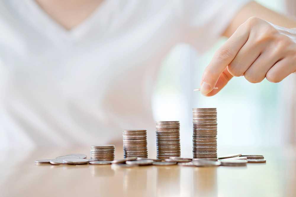 Genom att lägga undan små summor varje dag kommer du snabbt upp i stora belopp.