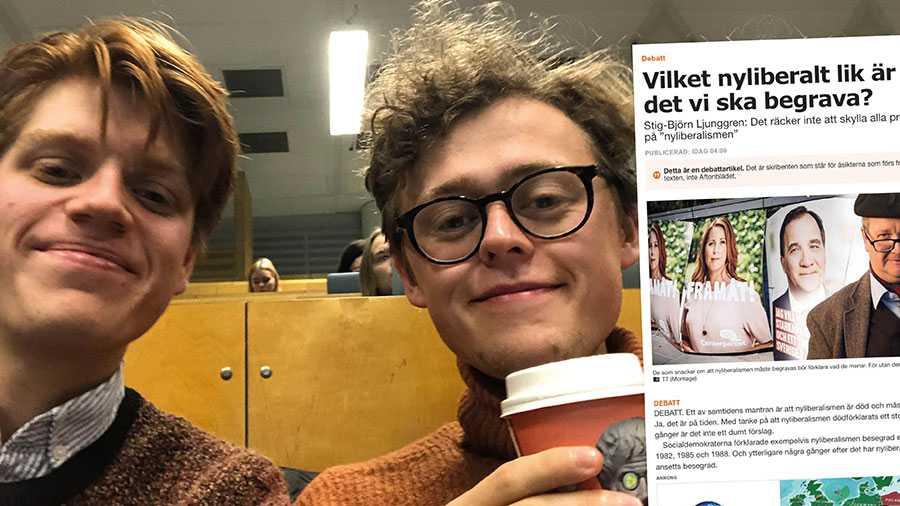 Alternativet till att lämna Januariavtalet är det som nu sker –  socialdemokratins förblödande, skriver Samuel Guron och Filip Patriksson.