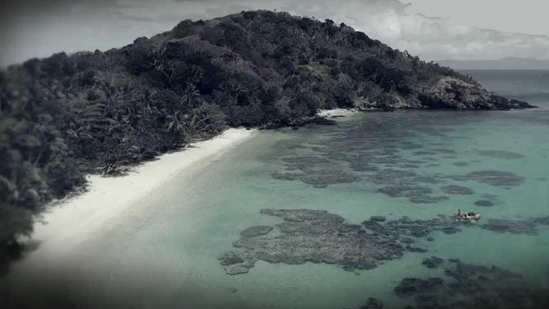 """""""Robinson"""" spelas in på Fijiöarna i Stilla havet."""