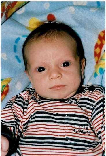 Felix Nilsson, 8 månader, Landskrona.