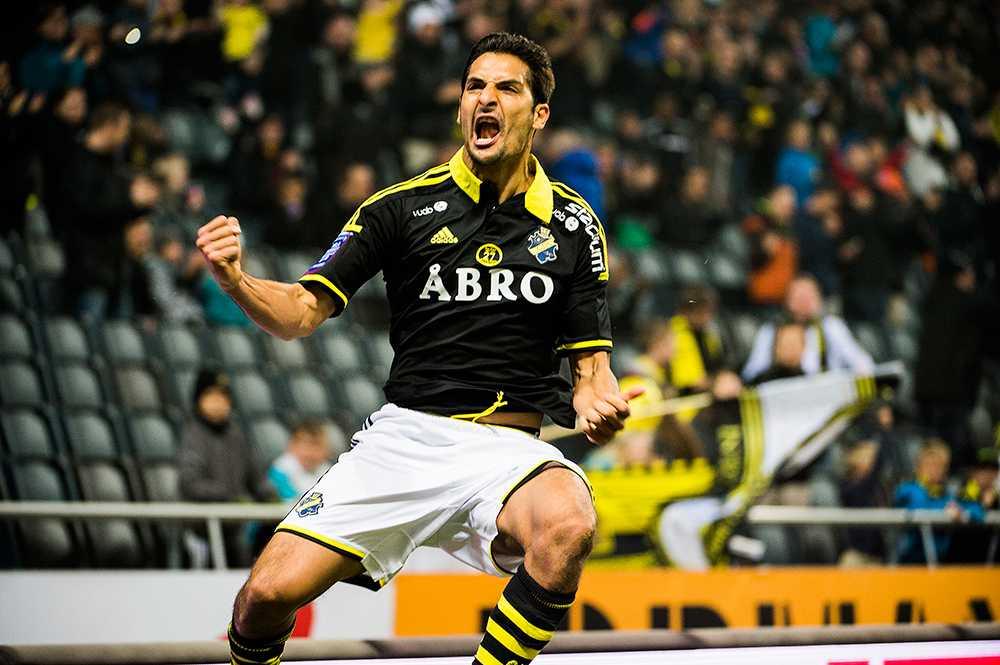 hjälte i avskedet? Celso Borges sköt de tre poängen till AIK mot Mjällby. Nu kan han försvinna ut på proffsäventyr.