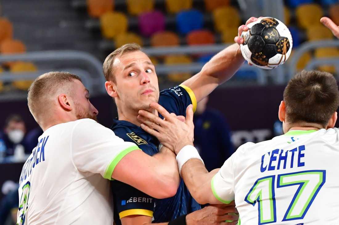 Lukas Sandell lär få stort förtroende mot Ryska handbollsförbundets lag.
