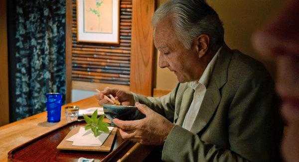 Alain Ducasse på besök i Tokyo.