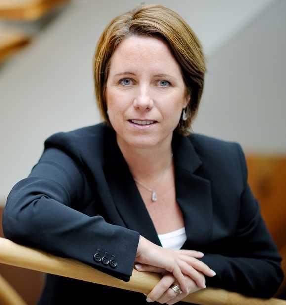 Solresors informationschef Pauline Berndtsson.
