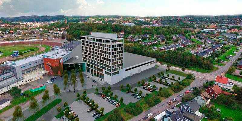 Åby Arena med mässhall, hotell, gym och ombyggda restauranger invigdes i helgen.