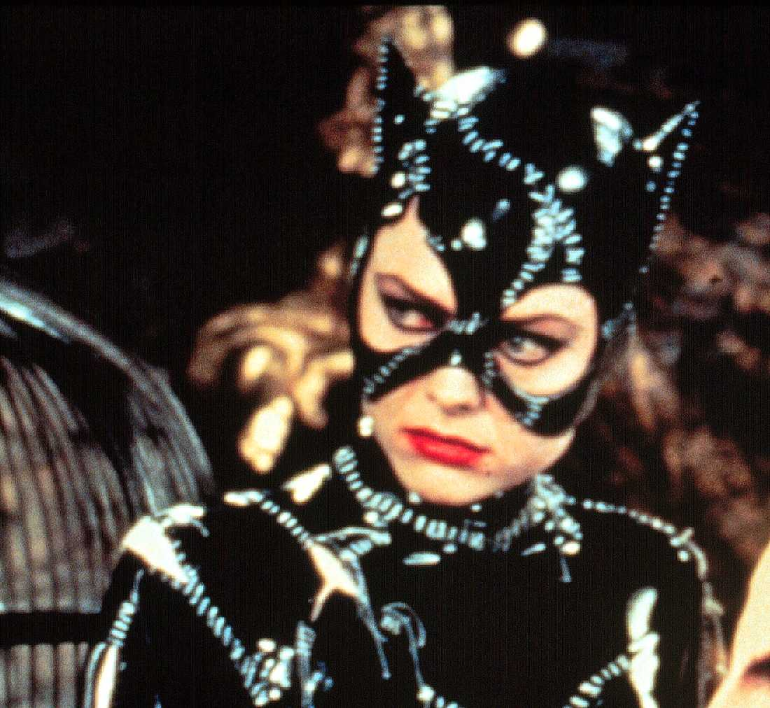 "Michelle Pfeiffer ""Batman returns"" (1992)."
