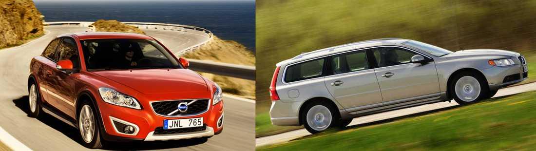 C30 och V70 är de modeller som kommer att tillverkas i den nya storfabriken.