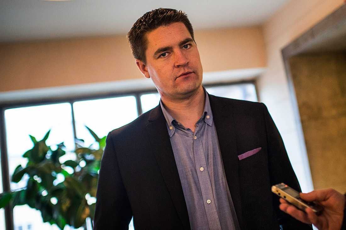SD:s ekonomiska talesperson Oscar Sjöstedt.