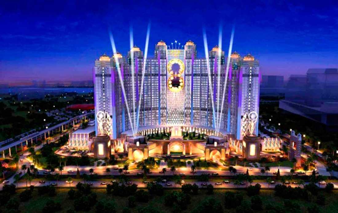 Pampigt är rätta ordet för det nya Batman-casinot.