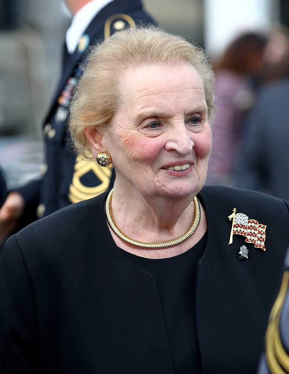 Dr. Madeleine K. Albright.