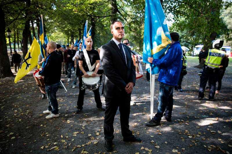 Stefan Jacobsson, SvP:s partiledare.
