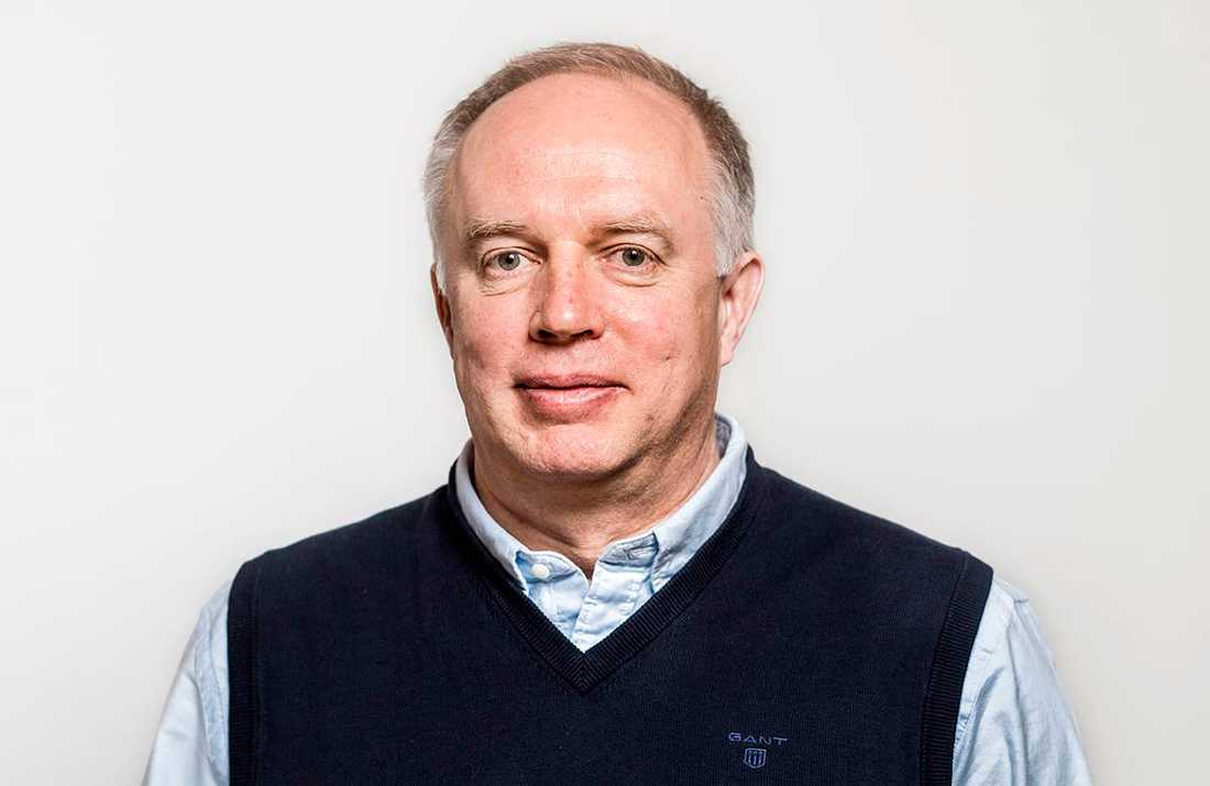 Mikael Köhler, chefsläkare på Akademiska sjukhuset.
