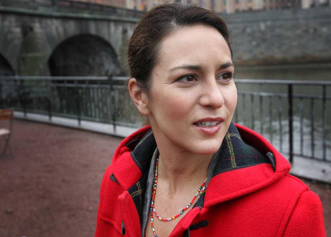 "Alexandra Rapaport i ""Kronprinsessan""."