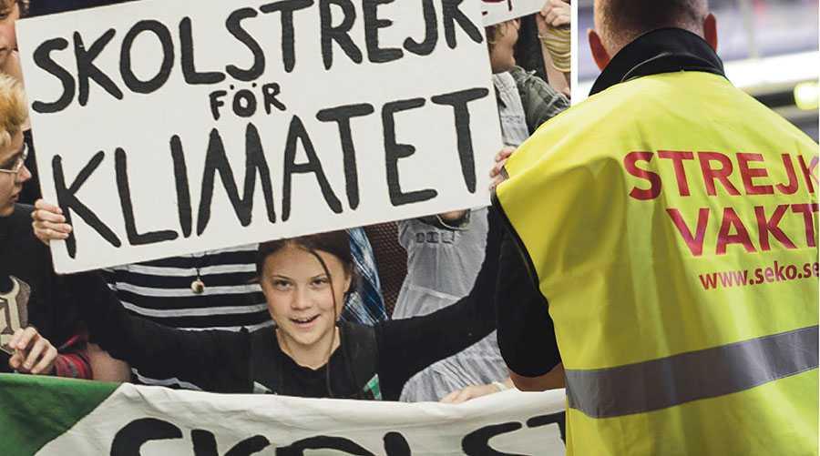 Ni vuxna säger att ni bryr er om era barn över allt annat, nu har ni er chans att visa det. Ta vara på den, skriver Greta Thunberg och Fridays for future.