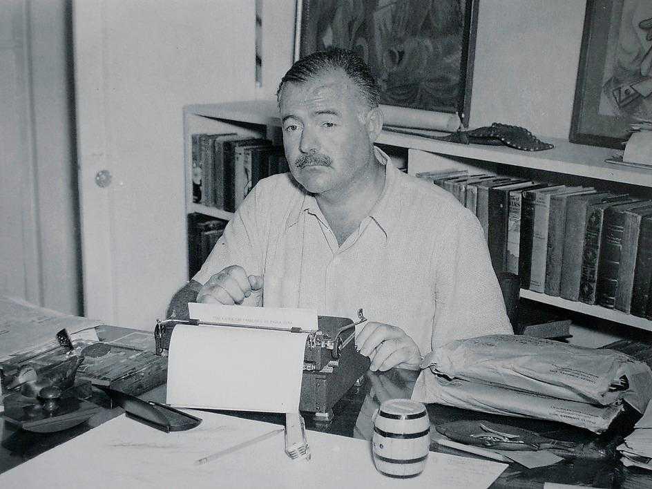 "Nobelpristagaren Hemingway skrev ""bara"" 14 böcker."