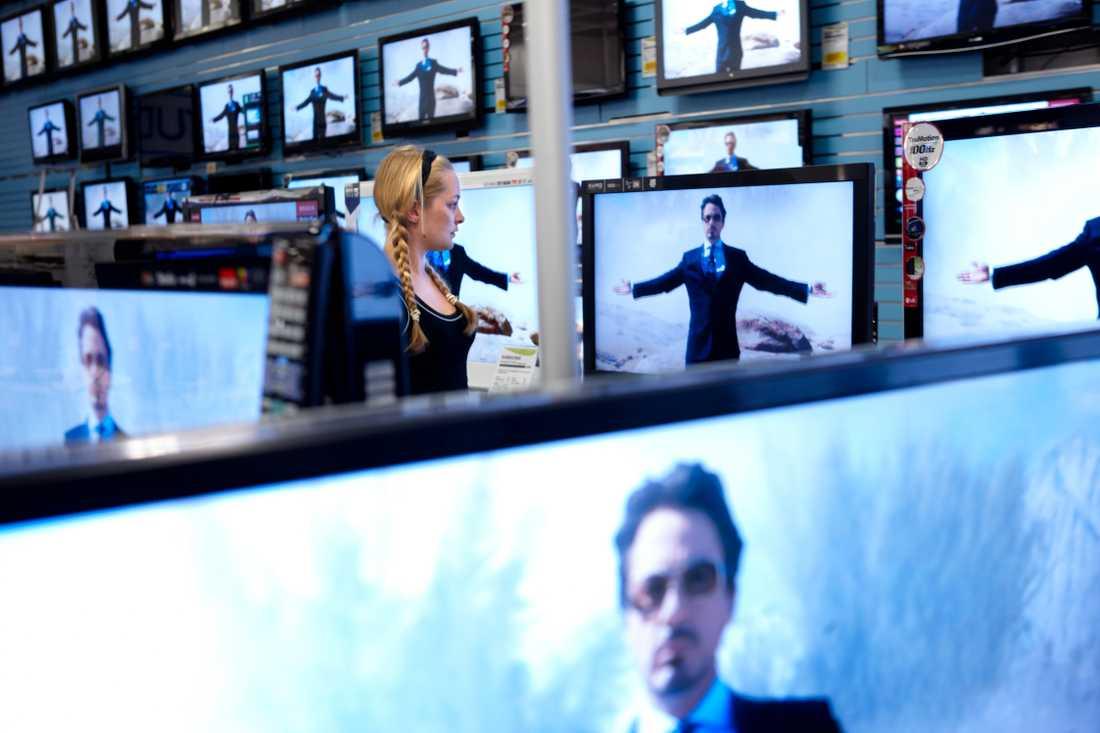 Tv-apparater var en av de produkter där butikerna fuskade mest med priserna förra året.