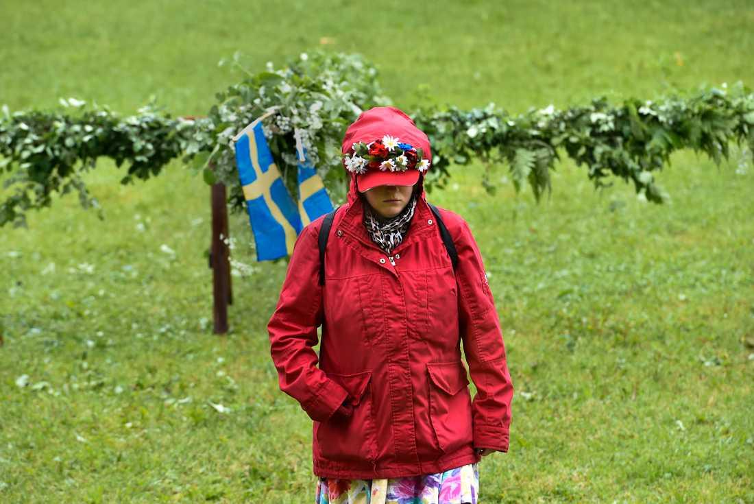 Södra Sverige ser ut att få regn på midsommarafton. Arkivbild.
