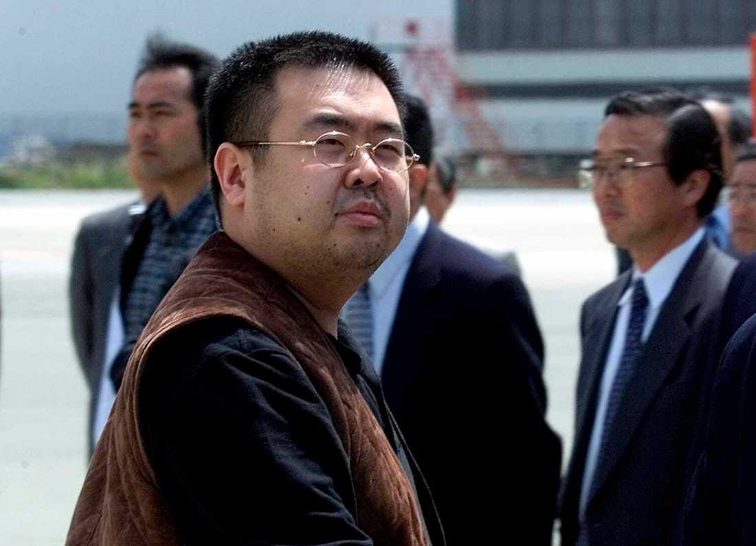 Kim Jong-Uns äldre bror Kim Jong-Nam förgiftades med nervgiftet VX på Kuala Lumpurs flygplats i Malaysia 2017. Nordkoreanska agenter misstänks ha orkestrerat mordet. Arkivbild.