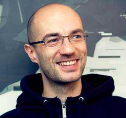 Franska spelstudion Dontnod Entertainments medgrundare Jean-Maxime Moris.