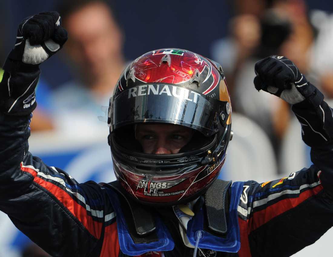 Segrande Sebastian Vettel.