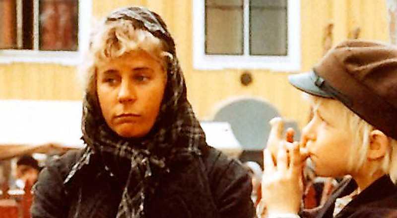 """mobbad i 50 år Maud Hansson som pigan Lina i filmen """"Emil i Lönneberga"""" från 1971. I år är det ett halvt sekel sedan den första boken om livet på Katthult kom ut. Foto: SF"""