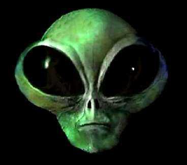 Så kan kanske en utomjording se ut? (ufo = oidentifierade flygande objekt)
