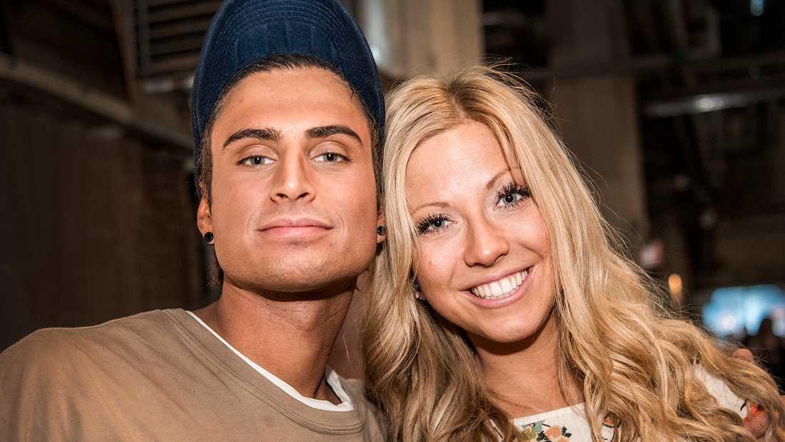 Samir Badran och Sigrid Bernson.