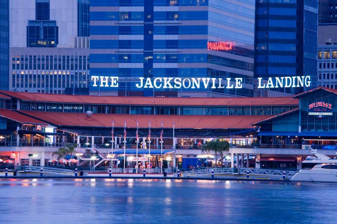 The Jacksonville Landing, Jacksonville, Florida.